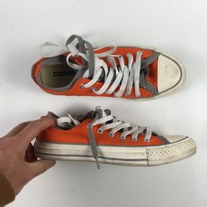 Converse Orange All Star Shoes T115876